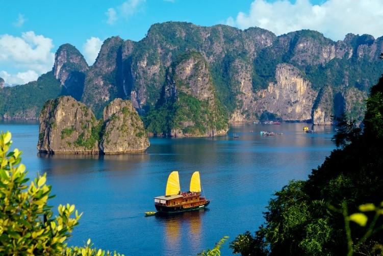 Halong Bay Vietnam in Kong: Skull Island