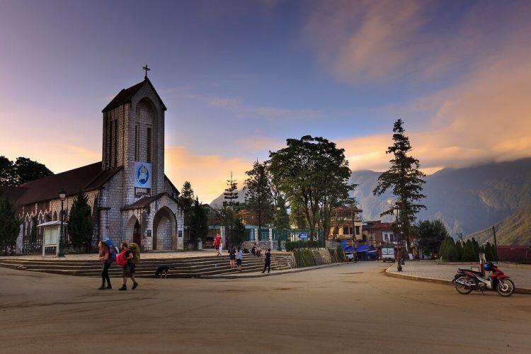 chiesa di Pietra a Sapa , Vietnam