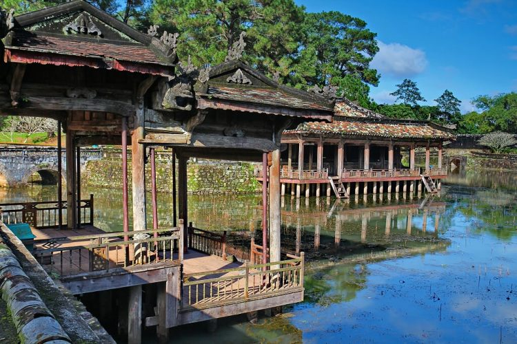 La Tombe imperiali a Hue Vietnam