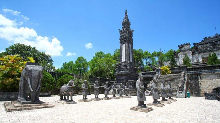 La tomba di Khai Dinh - Hue Vietnam