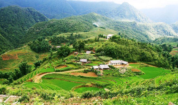 Sapa vietnam paesaggi