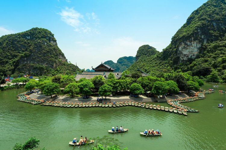 Hoa Lu - vietnam paesaggi