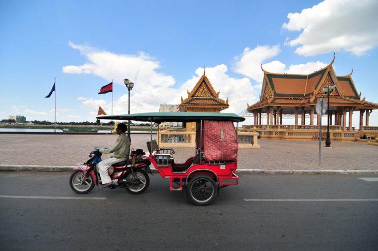 transporto in Cambogia - Tour Vietnam e Cambogia