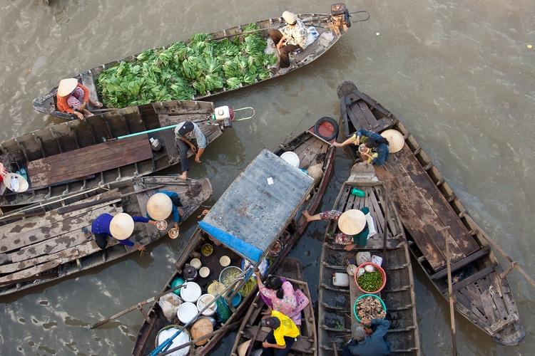 Delta di Mekong-Vietnam Cambogia cosa vedere