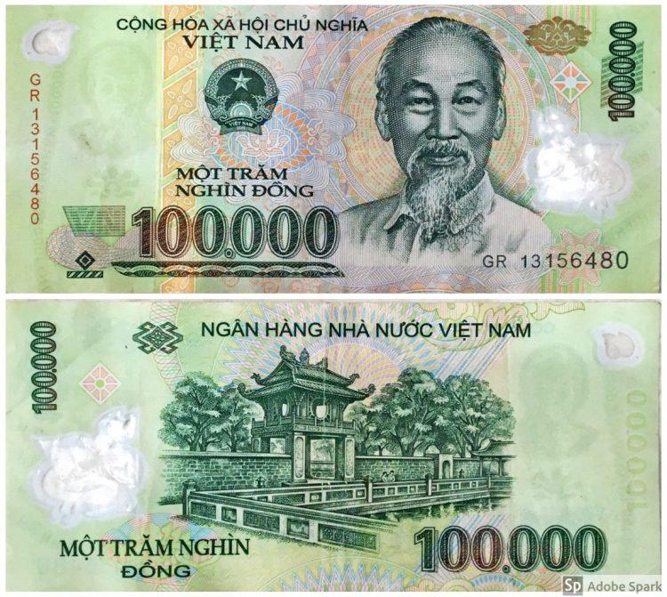 100.000 Vietnamdong-Monete Vietnam