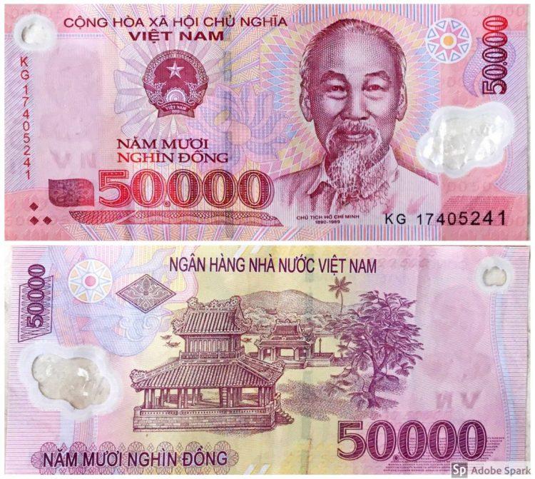 50.000 Vietnamdong - Monete Vietnam