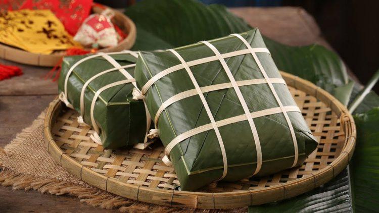 Banh chung-Vietnam Cambogia capodanno