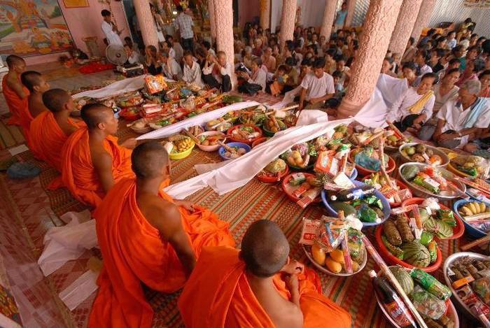Chol Thnam May - Vietnam Cambogia capodanno
