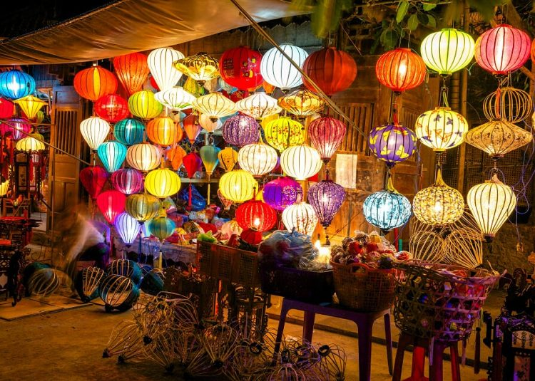 Hoi an, Vietnam - Vietnam Cambogia capodanno
