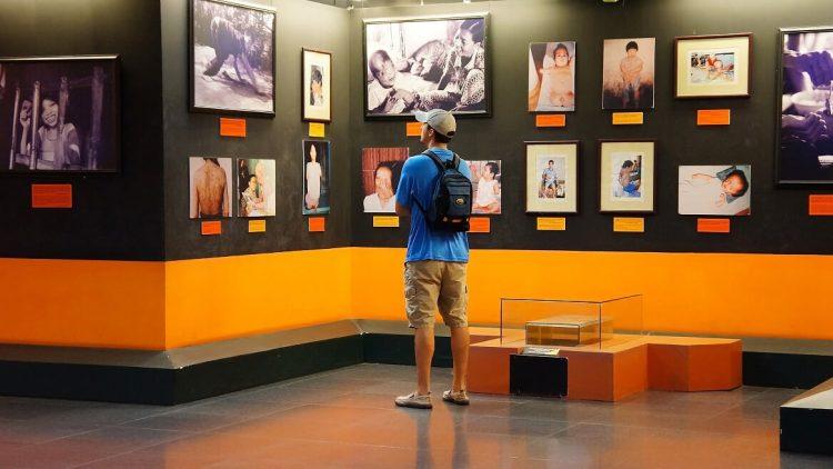 Il museo della storia Nazionale - Saigon Vietnam