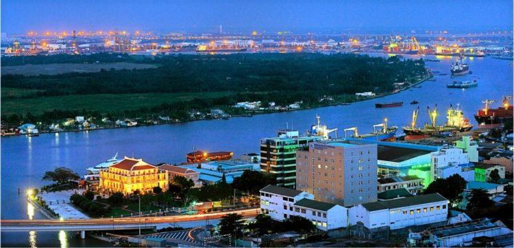 Porto di Nha Rong - Saigon Vietnam