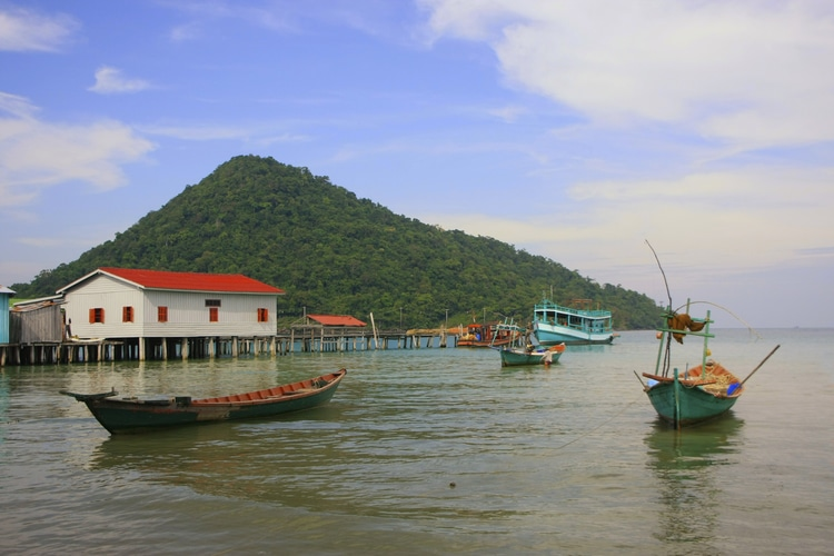 isola di koh Rong-Vietnam-Cambogia-isola
