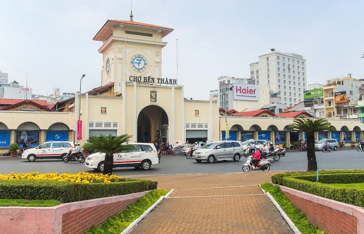 mercato di Ben Thanh - Saigon Vietnam