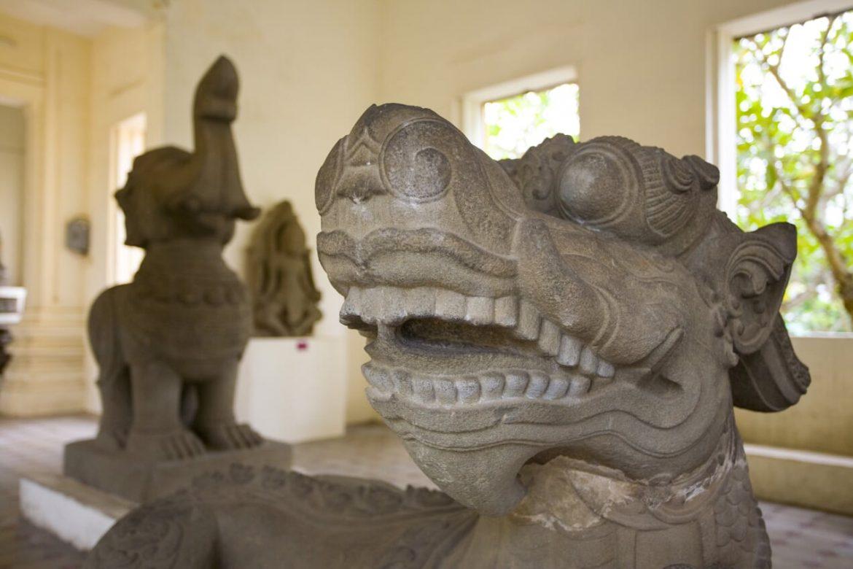 Il museo della scultura Cham musei storici vietnam cambogia