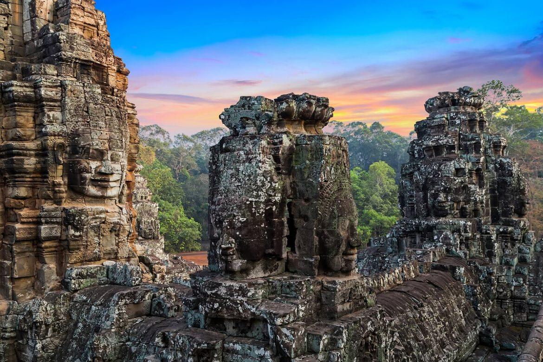 Il tempio di Bayon cultura storia monumenti vietnam cambogia