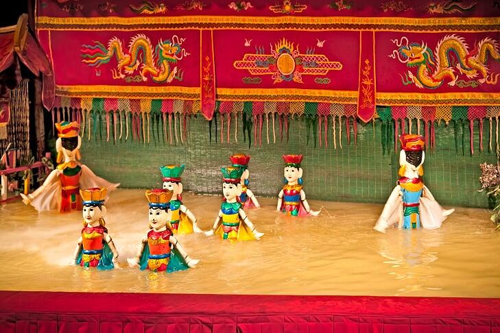 Le Marionette sull'acqua - arti spettacolo vietnam cambogia