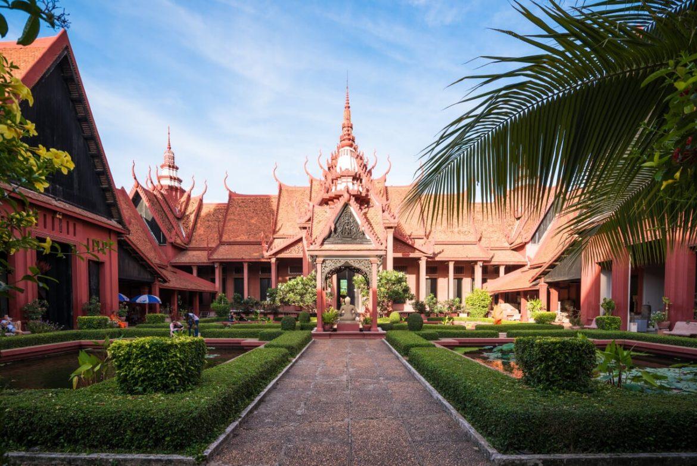 museo nazionale di Phnom Penh musei storici vietnam cambogia