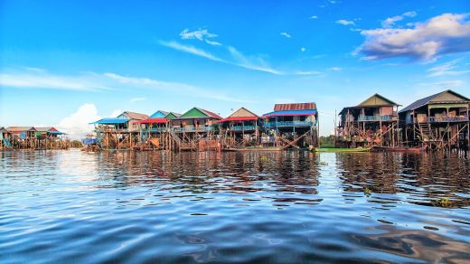 lago tonle sap della Cambogia